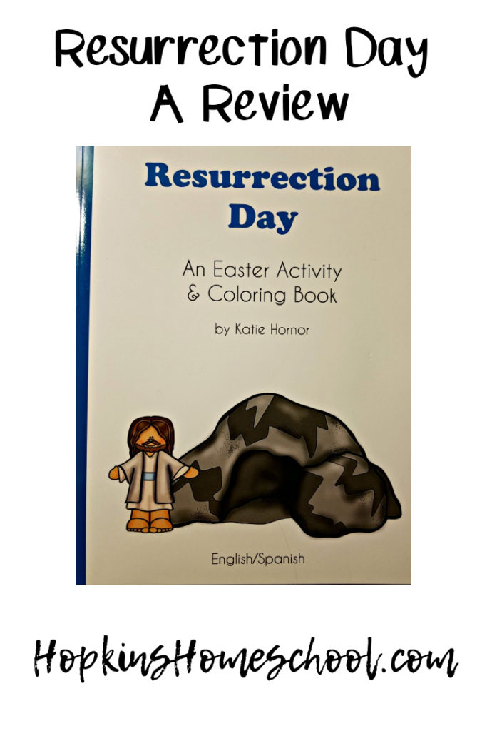 Resurrection Day: An Easter Activity & Coloring Book – A Review