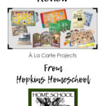 À La Carte Projects from Home School in the Woods – A Homeschool Crew Review