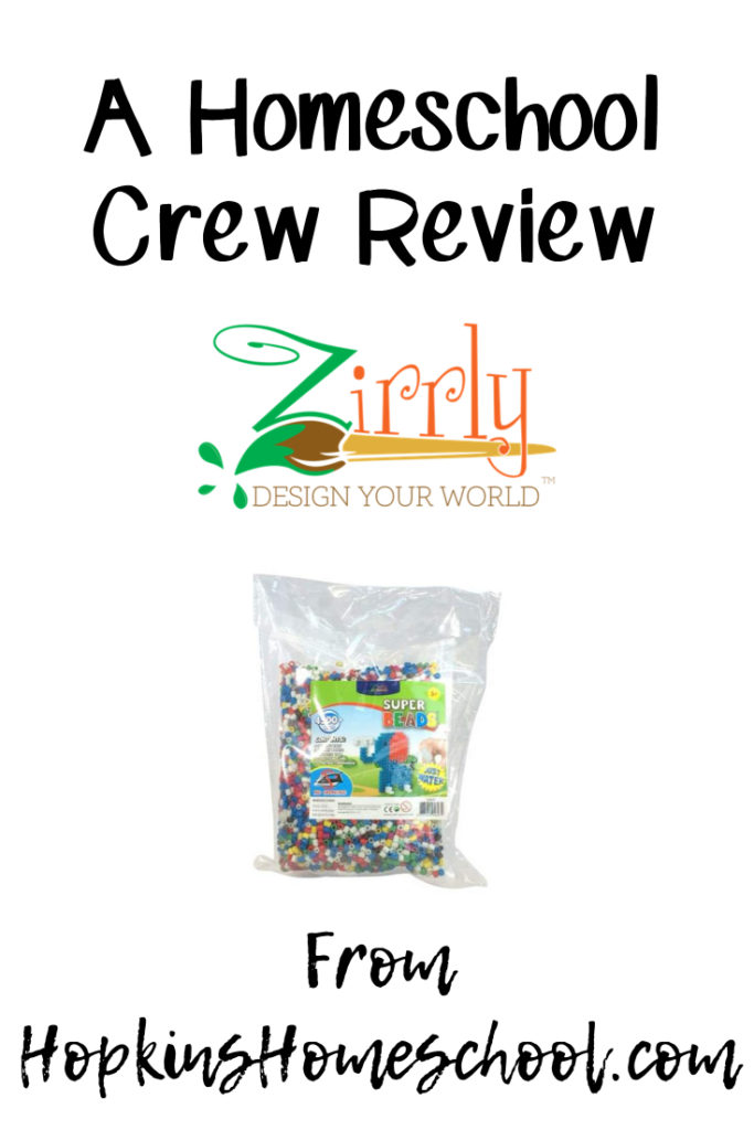 Zirrly Super Beads – A Homeschool Crew Review
