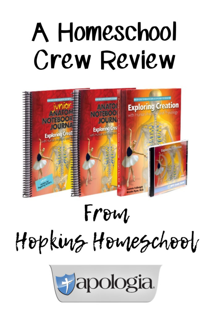 Exploring Creation with Human Anatomy and Physiology – A Homeschool Crew Review