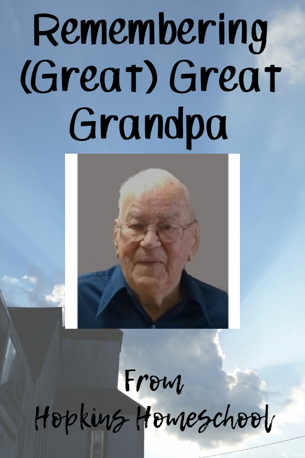 Remembering (Great) Great Grandpa – Friday Funnies, Flops, and Fails Link Up
