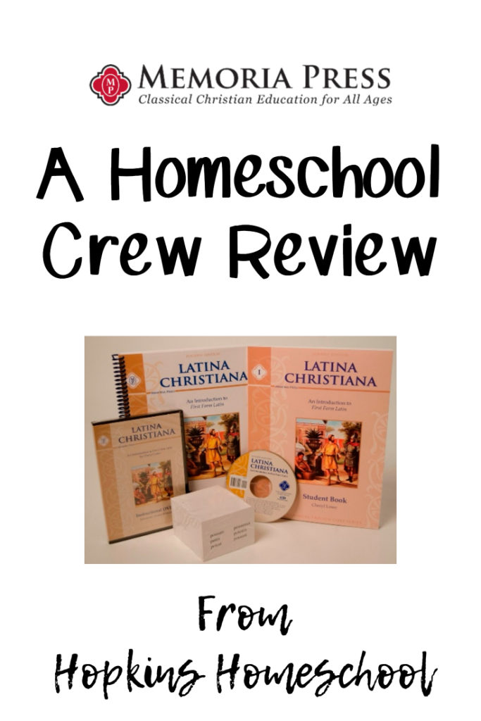 Latina Christiana – A Homeschool Crew Review