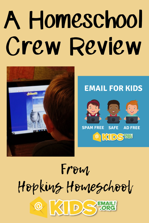 Kids Email – A Homeschool Crew Review
