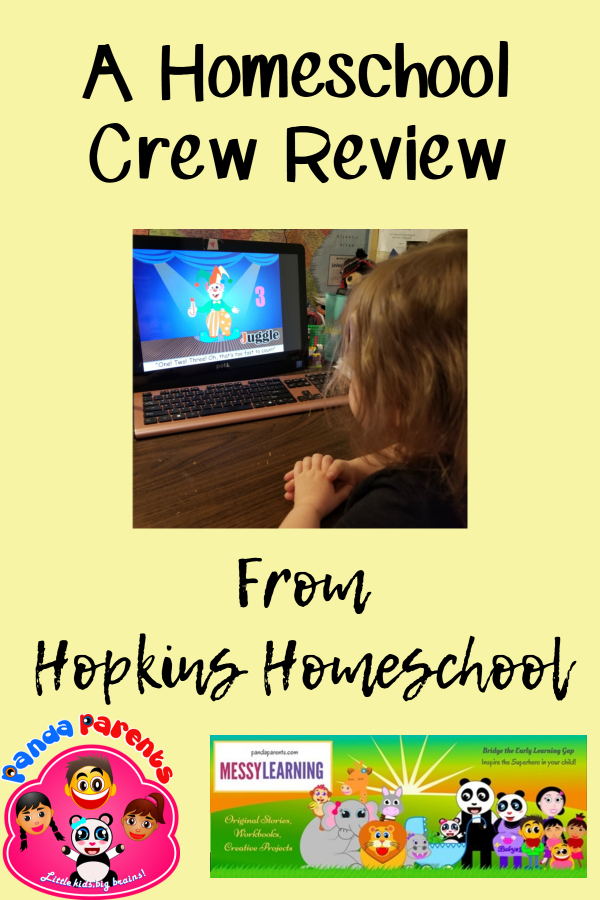 Preschool Learning with PandaParents – A Homeschool Crew Review