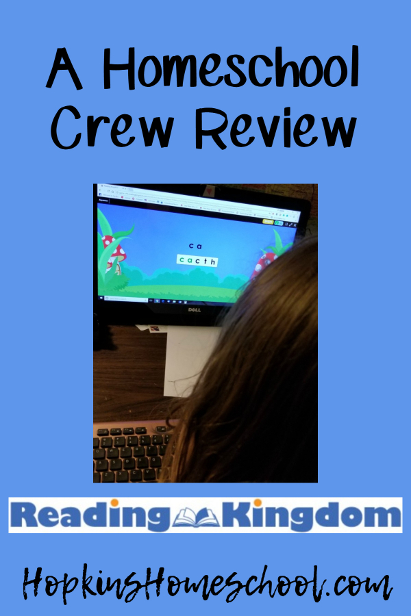 Learn to Read with Reading Kingdom – A Homeschool Crew Review