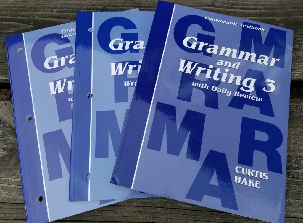 Grammar and Writing from Hake Publishing – A Homeschool Crew Review