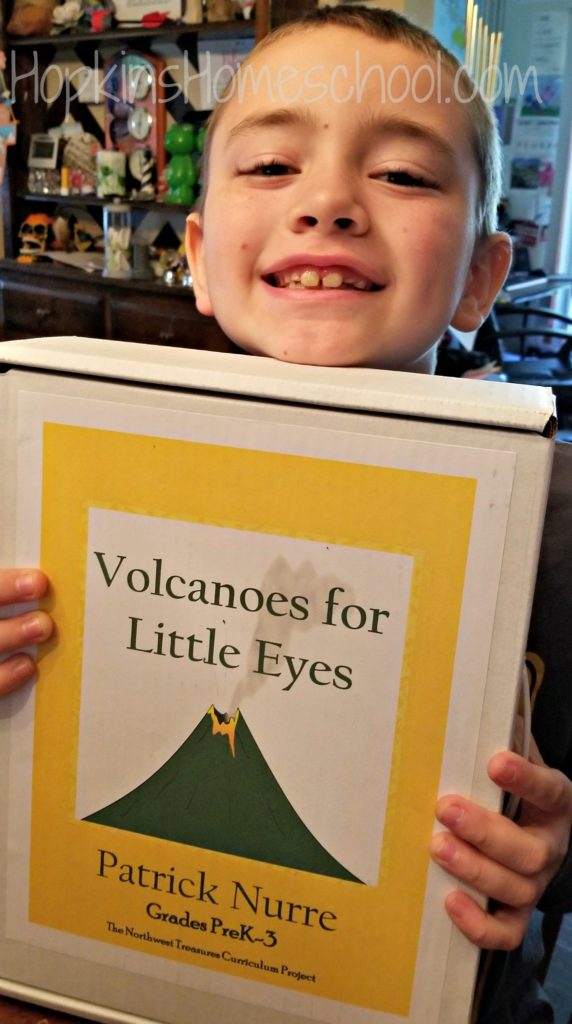 Volcanoes for Little Eyes – A Homeschool Crew Review