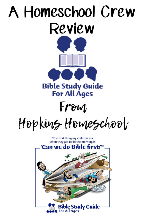Bible Study Guide For All Ages – A Homeschool Crew Review