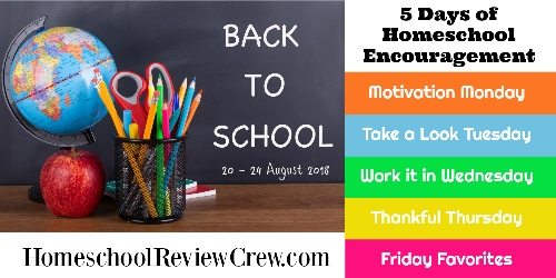 Our Favorite Homeschool Needs – 5 Days of Homeschool Encouragement